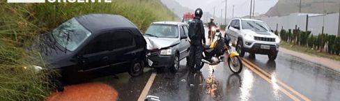 Cinco acidentes com vítimas foram registrados na BR120