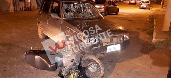 Inabilitados se envolvem em acidente no Júlia Molar