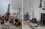 Ervália e Araponga: Polícia Civil realiza operação e recupera materiais roubados