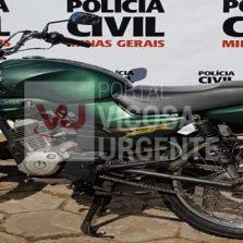 Polícia Civil de Viçosa recupera moto furtada