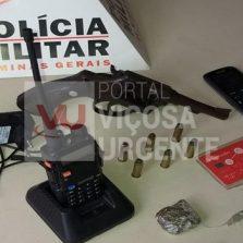 PM prende suspeitos de tráfico de drogas no Amoras