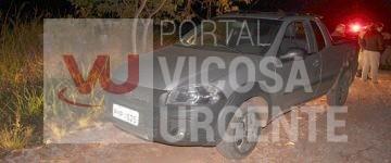 Siriguite: Ladrões roubam moto e abandonam picape roubada