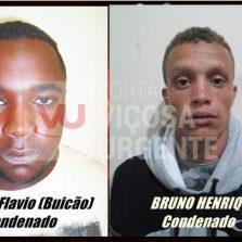 Dois condenados por homicídio em Viçosa
