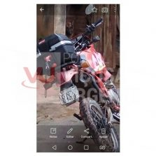 Motocicleta furtada na Gomes Barbosa
