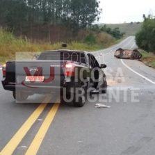 Com sinais de embreaguez e sem habilitação, motorista provoca acidente em São Geraldo