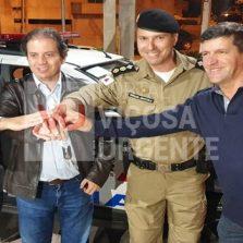 Nova Viatura é entregue à Polícia Militar de Viçosa