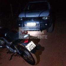Adolescente de 14 anos é apreendido por assaltar motoqueiro na estrada Viçosa/Porto Firme