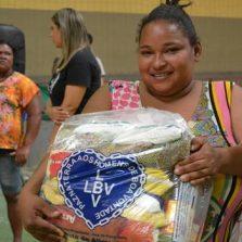 LBV inaugura unidade e entrega cestas de alimento no Vale do Jequitinhonha