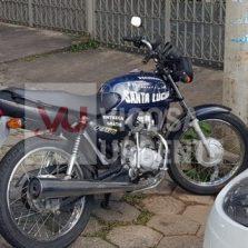 Viçosa: Polícia Civil recupera moto furtada no Centro