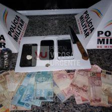 Suspeitos de tráfico de drogas são detidos no João Mariano