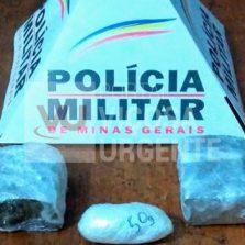 Polícia Militar prende autor envolvido com o por tráfico de drogas em Rio Casca