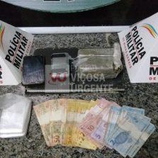 Dono de bar é preso por tráfico de drogas em Ervália