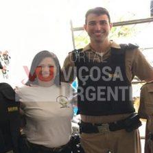Eugenópolis: PM recebe homenagem dos alunos da APAE