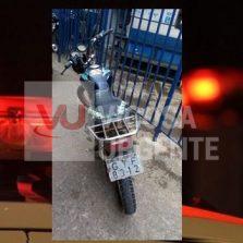 Moto furtada em 2016 em Araponga é recuperada pela PM