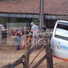 """Fazendeiro é detido após descoberta de """"gato"""" de energia em Cajuri"""
