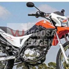 Moto roubada na Capivara é localizada na zona rural de Canaã