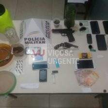 Teixeiras: Suspeitos são presos por tráfico de drogas