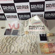 Oratórios: Suspeitos de tráfico de drogas são presos pela PM