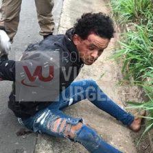 40MIL: Assaltante é preso após acidente em Visconde do Rio Branco