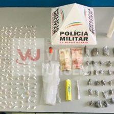 Homem é preso por tráfico de drogas em Urucânia