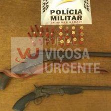 Rio Casca: Homem é preso por posse de arma de fogo