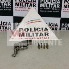 Ponte Nova: Polícia Militar apreende arma de fogo com autor de violência doméstica