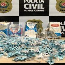 Leopoldina: Polícia civil prende suspeito que transportava cocaína em ônibus