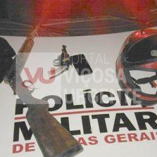 Fervedouro: Suspeito de roubo é morto durante confronto com a PM