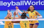 Brasil vence Camarões e segue na briga pelo bronze no Mundial de Vôlei