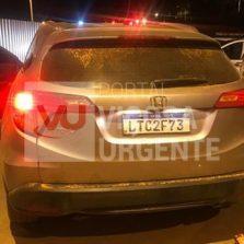 Carro roubado no Rio de Janeiro é localizado em Visconde do Rio Branco