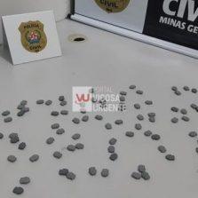 Polícia civil de Viçosa prende universitários por tráfico de drogas
