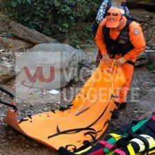 Turista cai de cachoeira e tem lesão na coluna