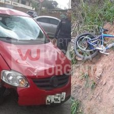 Ciclista morre em atropelado na rodovia Ponte Nova/Viçosa