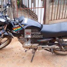Motocicleta furtada é localizada no Vau-Açu em Ponte Nova