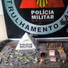 Homem é preso por tráfico de drogas no Bela Vista