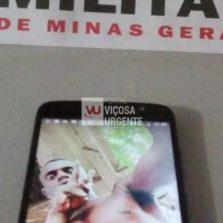 Ponte Nova: Suspeito é preso com celular furtado
