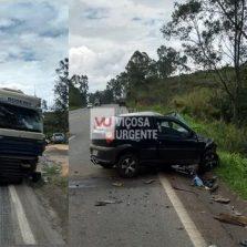 Motorista morre após colisão com carreta