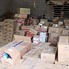 Polícia Civil: Homem é preso com 4 toneladas de produtos roubados em Ervália