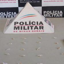 Ponte Nova: Homem é preso com drogas na Vila Alvarenga