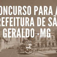 Prefeitura São Geraldo lança concurso com salários que ultrapassam 7 mil reais
