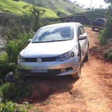 Vítima é baleada em Jequeri e seu veículo roubado é localizado em Canaã