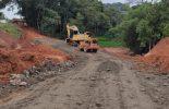 Prefeitura de Ervália busca parceria e libera o desvio na rodovia que liga a Coimbra