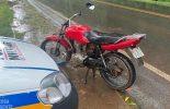 PM de Viçosa recupera moto roubada