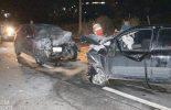 Colisão frontal deixa dois feridos na rodovia Viçosa/Coimbra