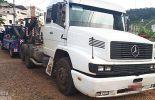 Caminhão furtado em Muriaé é localizada em Coimbra