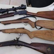 Polícia Militar apreende armas em Ervália