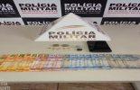PONTE NOVA: PM apreende drogas no Bairro Triângulo. Duas pessoas foram presas.