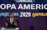 Conmebol adia Copa América para 2021 por causa da pandemia de Covid-19
