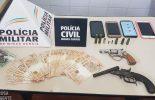 Operação conjunta prende dois suspeitos em Divino