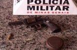 Casal é detido com arma e moto sem placa na rodovia Paula Cândido/Viçosa